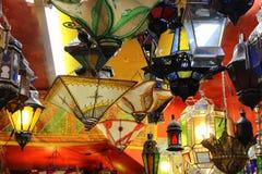 Granada - lampade Fotografie Stock