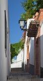 Granada - Mała nawa w Albazyin obraz stock