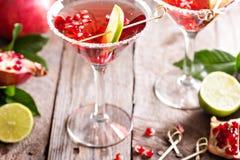 Granada martini con la cal fotografía de archivo