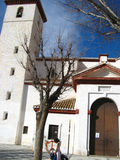 Granada, Mirador San Nicolas  Royalty Free Stock Photography