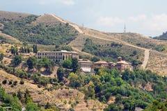 Granada - monastério de Abadia del Sacromonte Fotografia de Stock Royalty Free