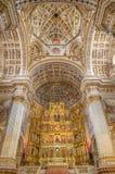 Granada - The nave of church Monasterio de San Jeronimo. Royalty Free Stock Images