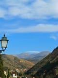 granada nevadastoppig bergskedja Royaltyfria Bilder
