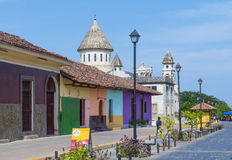 Granada Nicaragua Royaltyfria Bilder