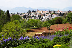 Granada overview Stock Image