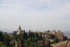 Granada pałac obrazy royalty free