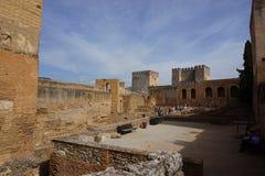 Granada pałac zdjęcie royalty free