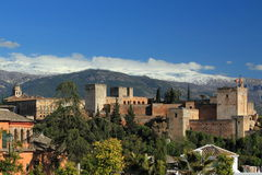Granada palace Royalty Free Stock Photo