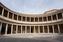Granada palace. From Andalusia in Spain Stock Images