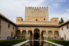 Granada palace. From Andalusia in Spain Stock Photo