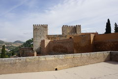 Granada-Palast Lizenzfreies Stockfoto