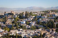 Granada panorama Stock Photography