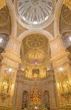 Granada - The presbytery of church Iglesia del Sagrario. Royalty Free Stock Images