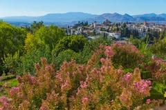Granada que sorprende, España Foto de archivo