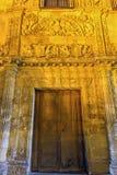 Granada - The renaissance portal of Casa de Castril by Sebastian de Alcantara from year 1539. Royalty Free Stock Image