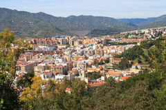 Granada rooftops Royalty Free Stock Photos