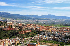 Granada rooftops Royalty Free Stock Image