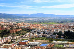 Granada rooftops Royalty Free Stock Images
