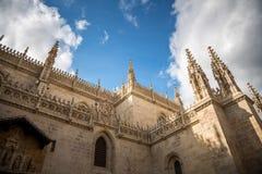 Granada´s Cathedral stock photo
