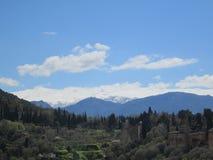Granada`s view Royalty Free Stock Photo