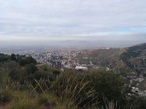Granada: Sacromonte e Albayzin fotografia stock libera da diritti