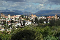 Granada scenery Stock Photography