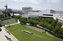 Granada science park areal Royalty Free Stock Photography