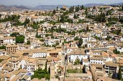 Granada sikt Royaltyfria Foton