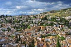 Granada, Spagna Immagini Stock Libere da Diritti