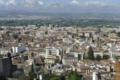 Granada, Spagna Fotografia Stock Libera da Diritti