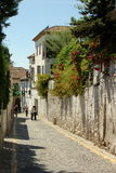 Granada, Spagna: Scena della via Fotografia Stock Libera da Diritti