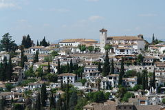 Granada, spain. Granada city of spain europe Stock Photography