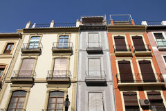 Granada, Spain. Granada in Andalusia region of Spain. Old decorative apartment buildings Royalty Free Stock Photography