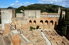 Granada, Spain: The Alhambra Royalty Free Stock Image