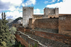 Granada (Spain) Alhambra Royalty Free Stock Photo