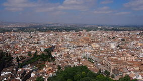 Granada, Spain stock video footage