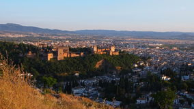 Granada, Spain stock video