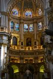 Inside Granada Cathedral Catedral de Granada, Santa Iglesia Catedral Metropolitana de la Encarnacion de Granada. Granada, Spain. January 17, 2018. Inside Granada Stock Images