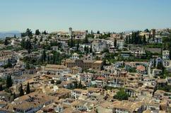 Granada,Spain. View from Alhambra Palace,Granada stock photos