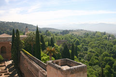 Granada, Spanien Stockfotos