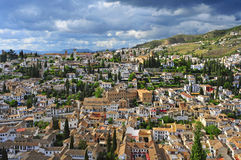 Granada Spanien Royaltyfria Bilder