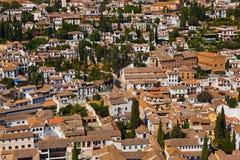 Granada Spanien Stockbild