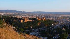 Granada Spanien stock video
