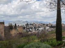 Granada Spanien Royaltyfria Foton