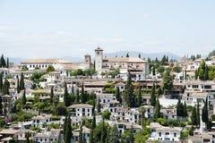Granada - Spanien Royaltyfria Foton