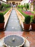 Der Alhambra-Palast Lizenzfreies Stockfoto