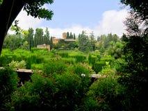 Der Alhambra-Palast Stockfoto