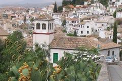 Granada - Spanje Royalty-vrije Stock Afbeeldingen