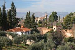Granada in Spanje Stock Afbeelding