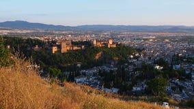 Granada, Spanje stock footage